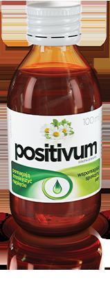 butelka syropu positivum