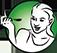 piktogram kobiety trzymającej łyżkę